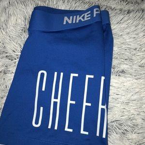 Cheer Nike pros